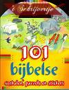 101 bijbelse verhalen puzzels & stickers