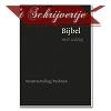 Bijbel met uitleg flex. zwart 140x198mm