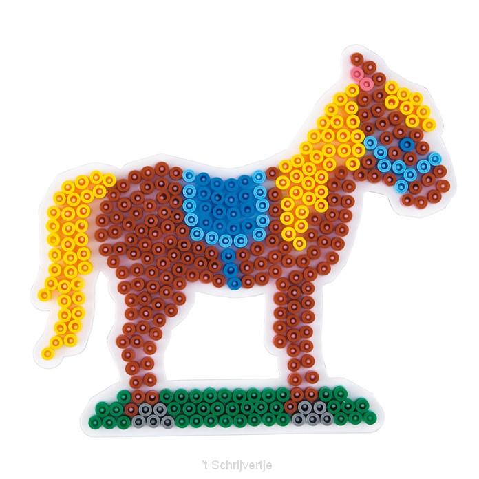 Hama Strijkkralenbordje - Paard