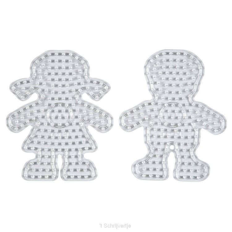 Hama Strijkkralenbord Maxi - Jongen en Meisje