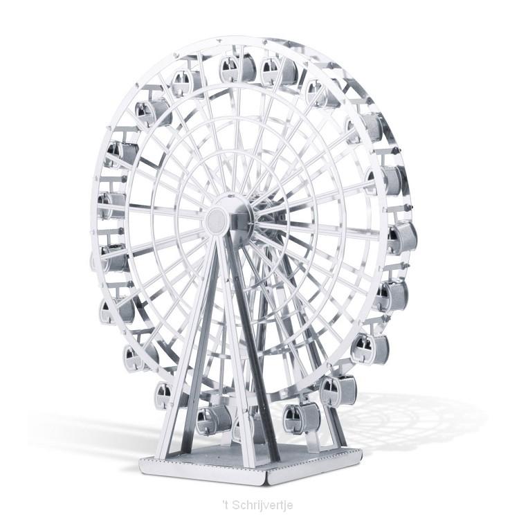 Metal Earth Ferris Wheel Zilver Editie