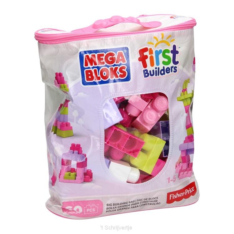 Mega Bloks Roze, 60st.