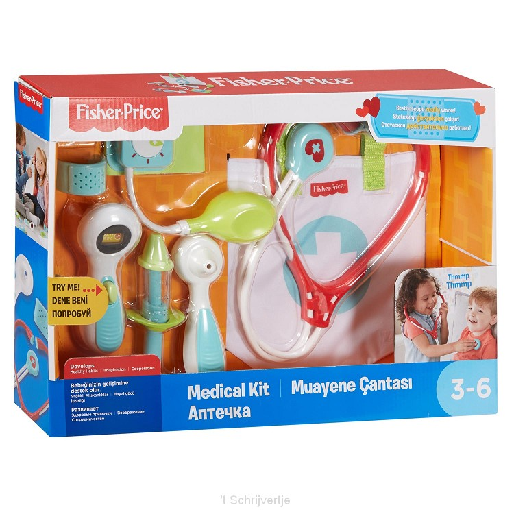 Fisher Price Doktersset