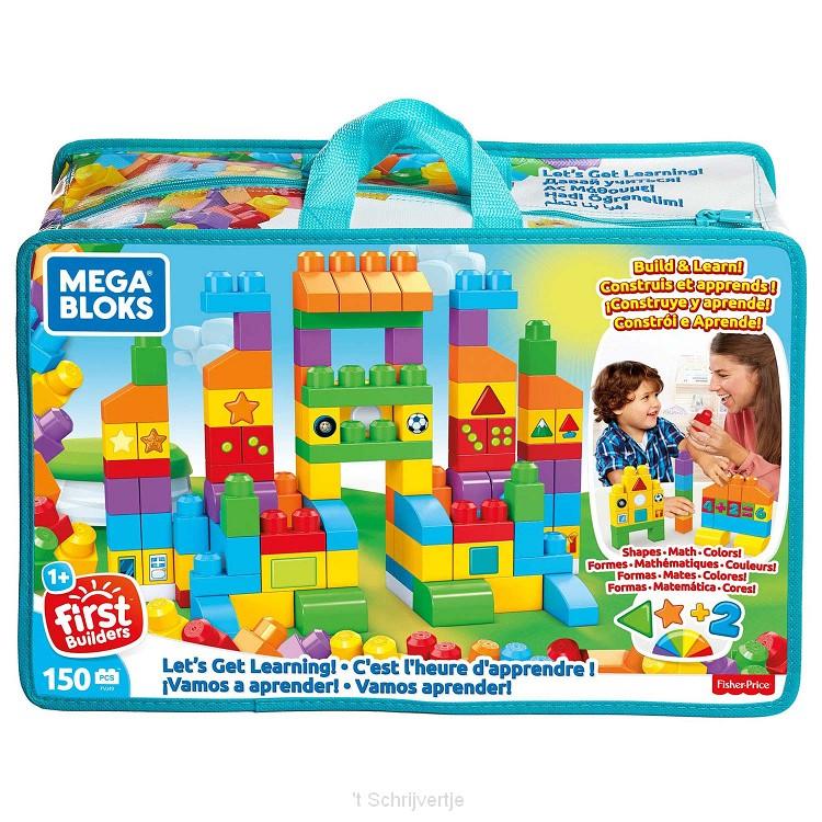 Mega Bloks - Laten we leren Tas, 150dlg.