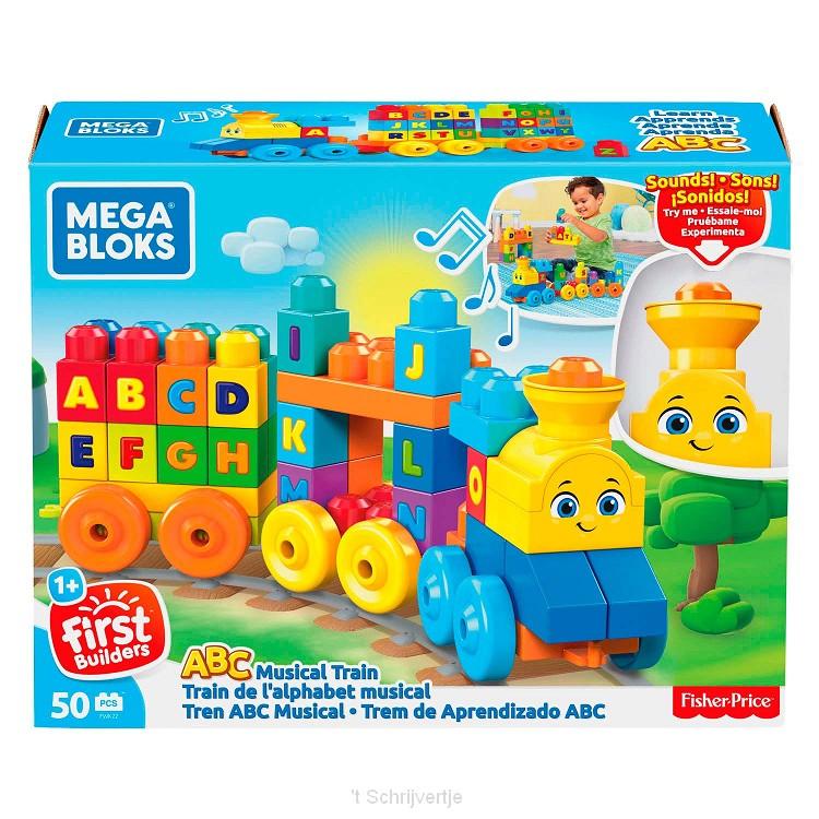 Fisher Price Mega Bloks - ABC Leren Trein