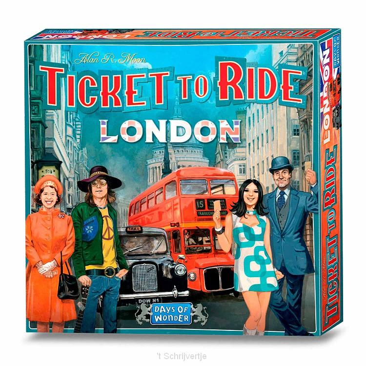 Ticket to Ride London Bordspel