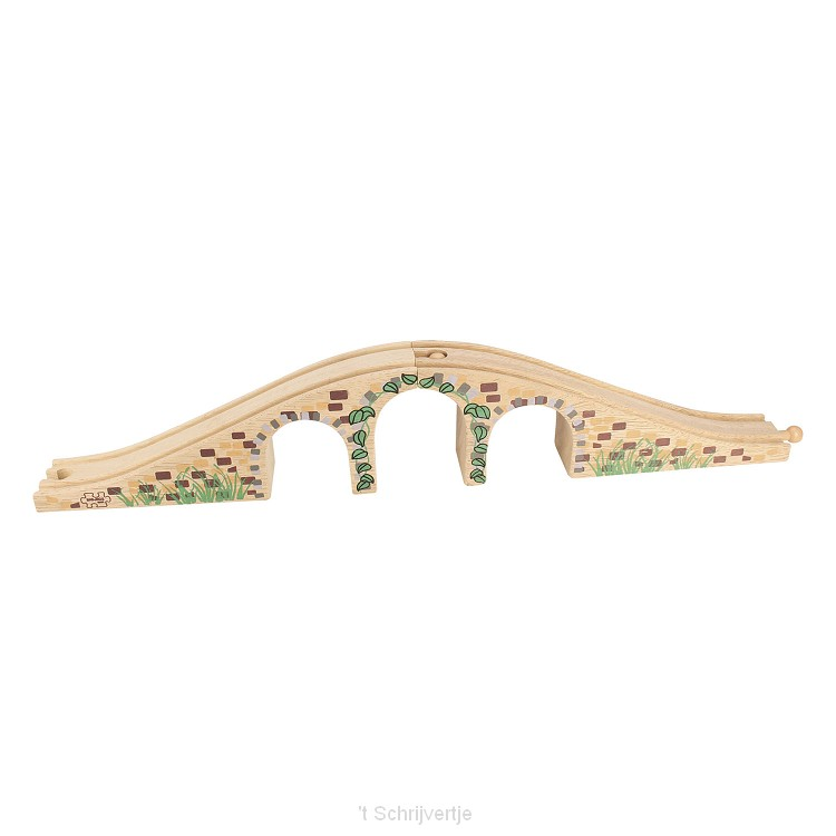Houten Rails - Brug Met 3 Bogen