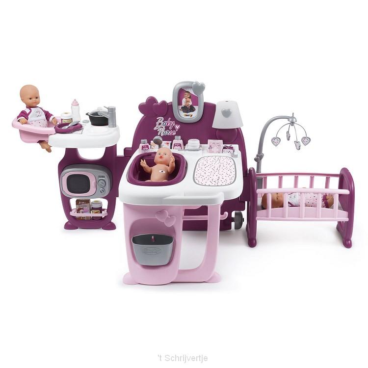 Smoby Baby Nurse Verzorgingscentrum
