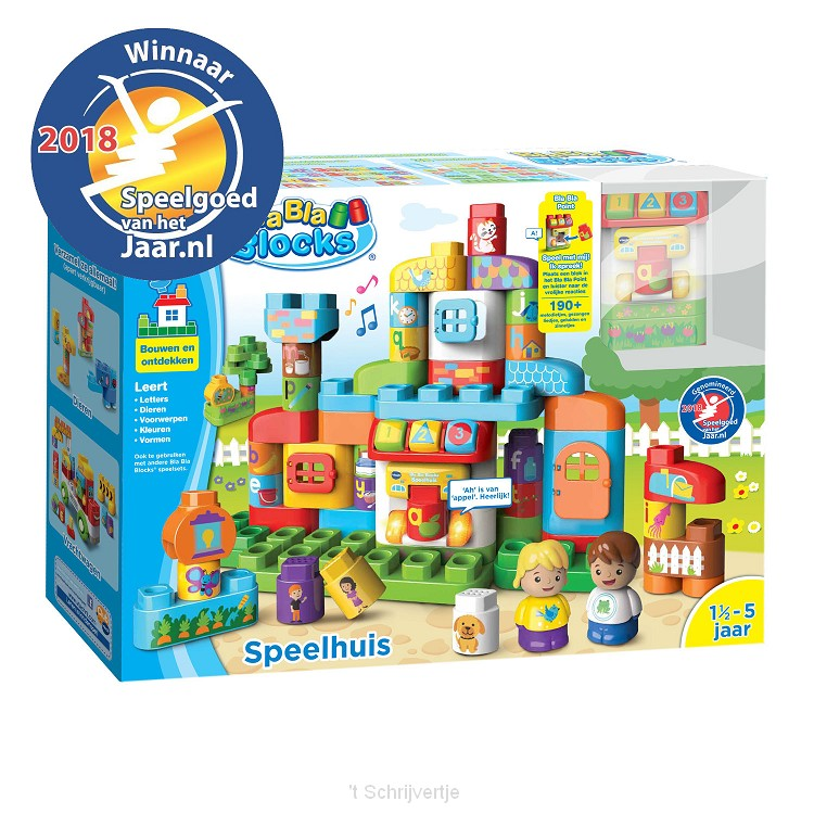 VTech Bla Bla Blocks - Speelhuis