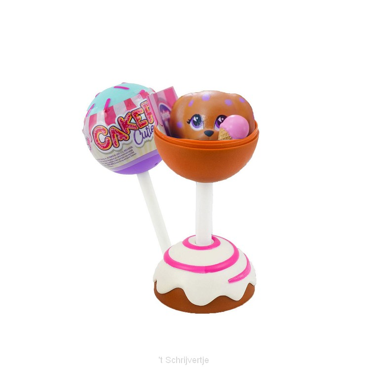 Cake Pop Squishy Surprise