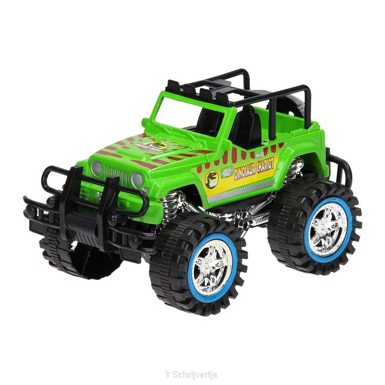 Frictie Power Terreinwagen - Groen