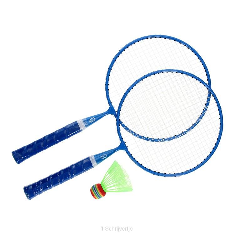 Badmintonset - Blauw
