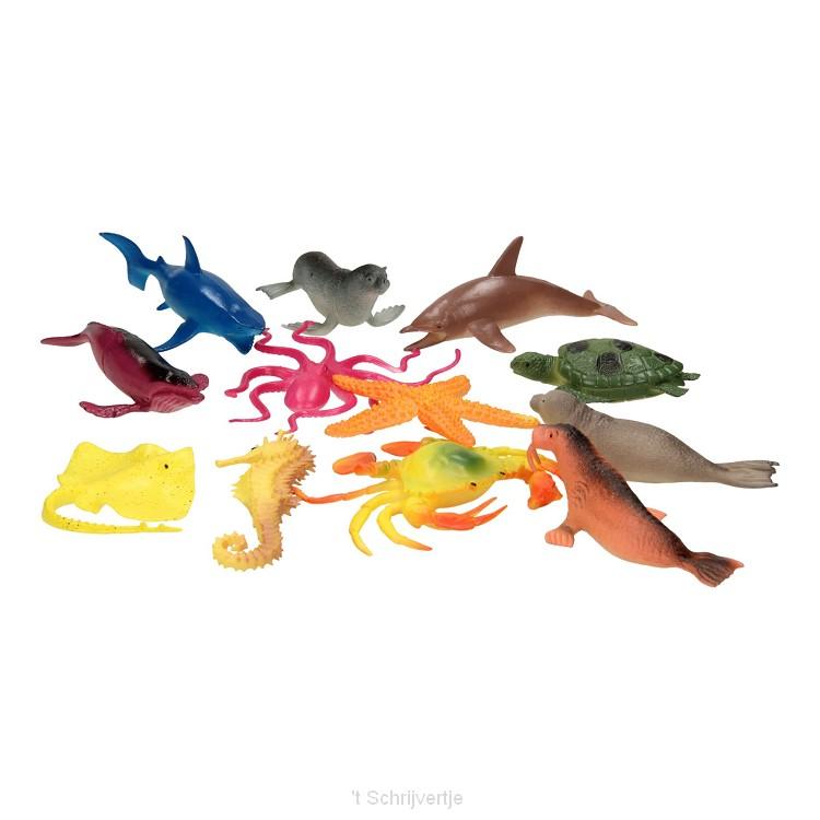 Onderwaterwereld Speelfiguren, 12st.