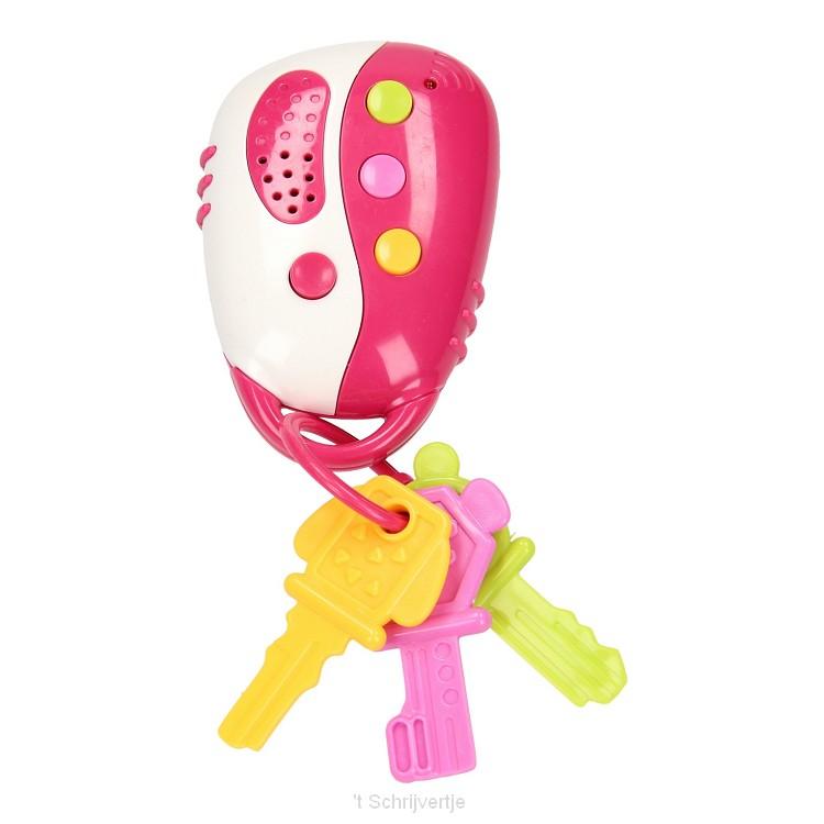 Peuter Sleutelbos - Roze