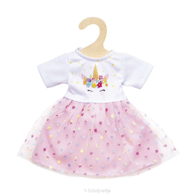 Poppenjurk Eenhoorn, 28-35 cm