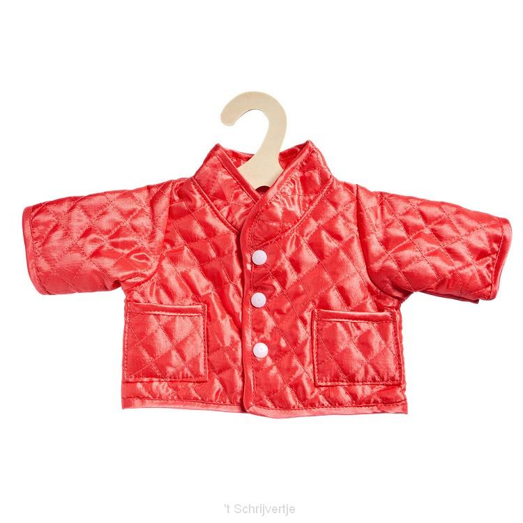 Poppenjas - Rood, 28-35 cm