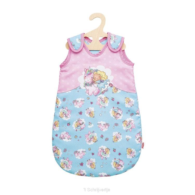 Poppenslaapzak Eenhoorn, 28-35 cm