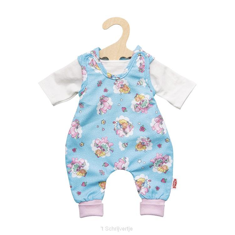 Poppenromper Eenhoorn, 35-45 cm