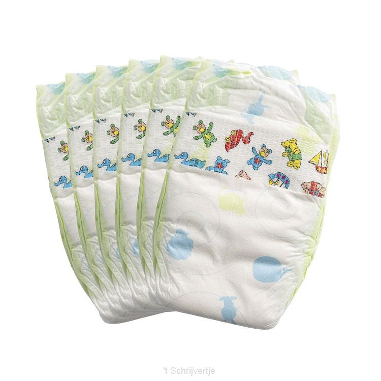 Poppenluiers - 6 stuks, 35-50 cm