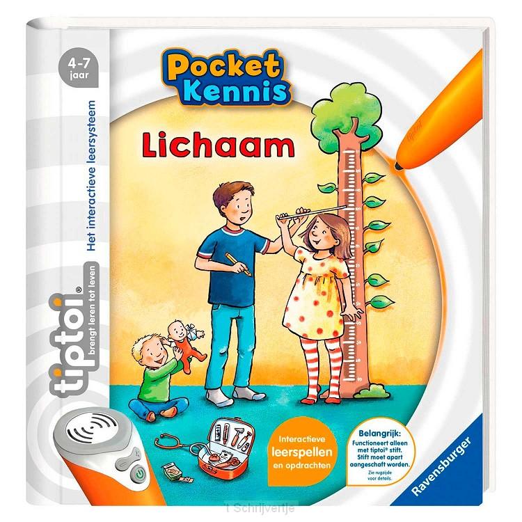 Tiptoi Pocket Kennis - Het Lichaam