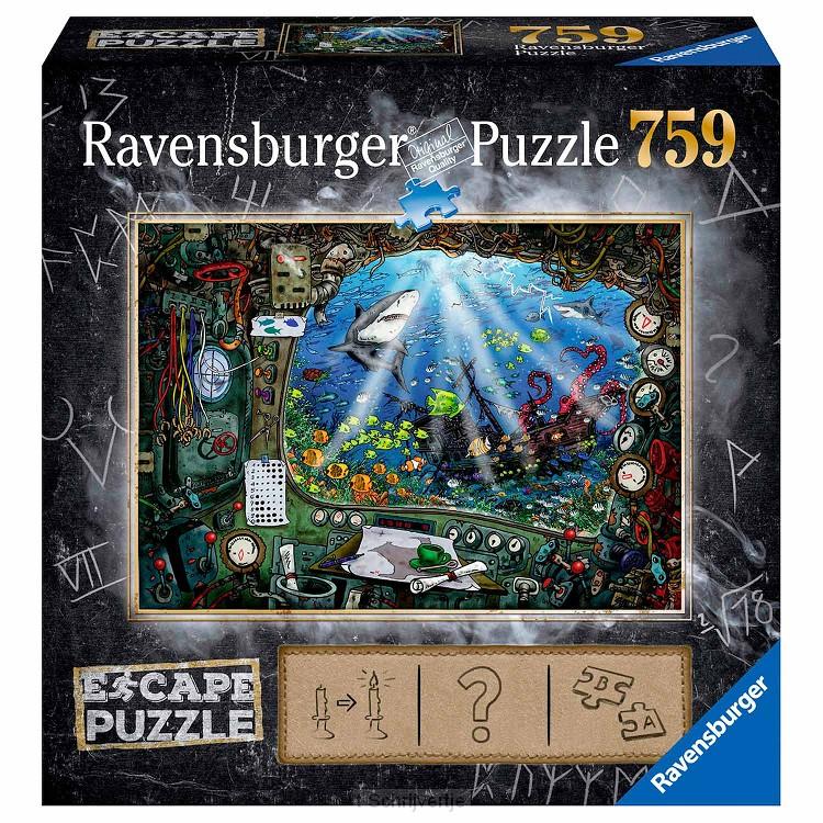 Ravensburger Escape Room Puzzel - De Onderzeedr, 759st.
