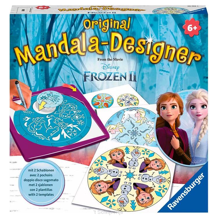 Disney Frozen 2 Mandala-Designer Midi