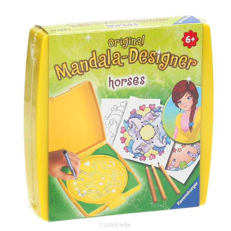 Mini Mandala-Designer - Horses