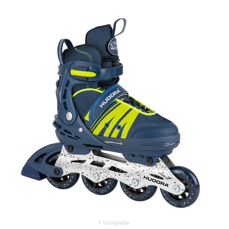 Hudora Inline Skates Comfort Blauw, Maat 29-34