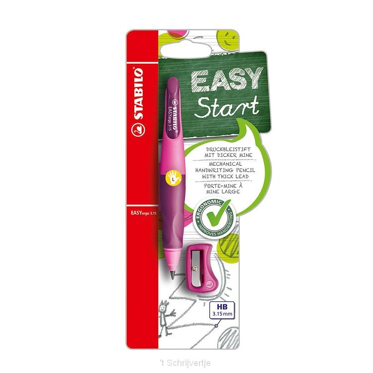 STABILO EASYergo 3.15 Linkshandig - Roze