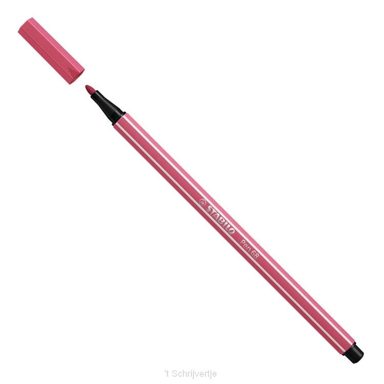 STABILO Viltstift - Aardbeien Rood (68/49)