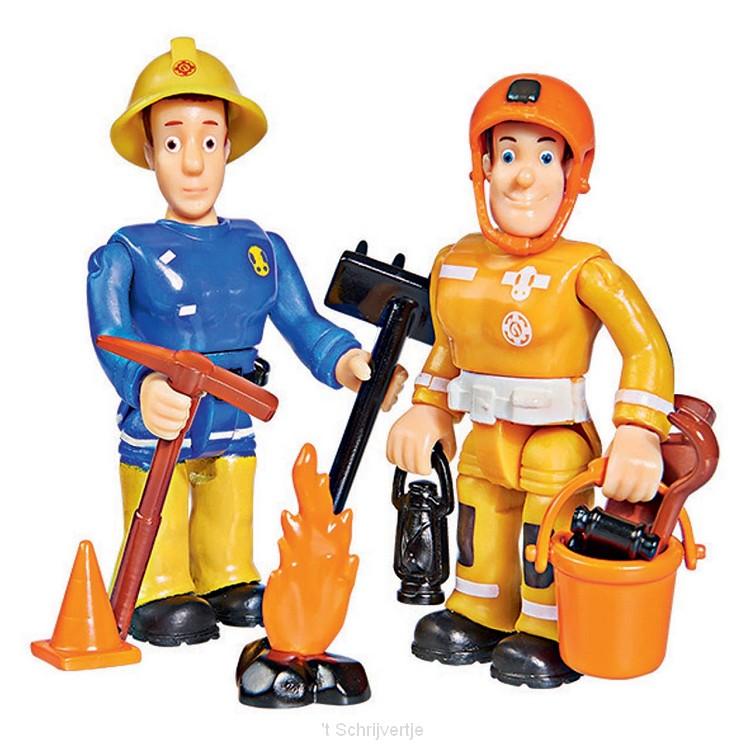 Brandweerman Sam Speelfiguren - Sam en Arnold
