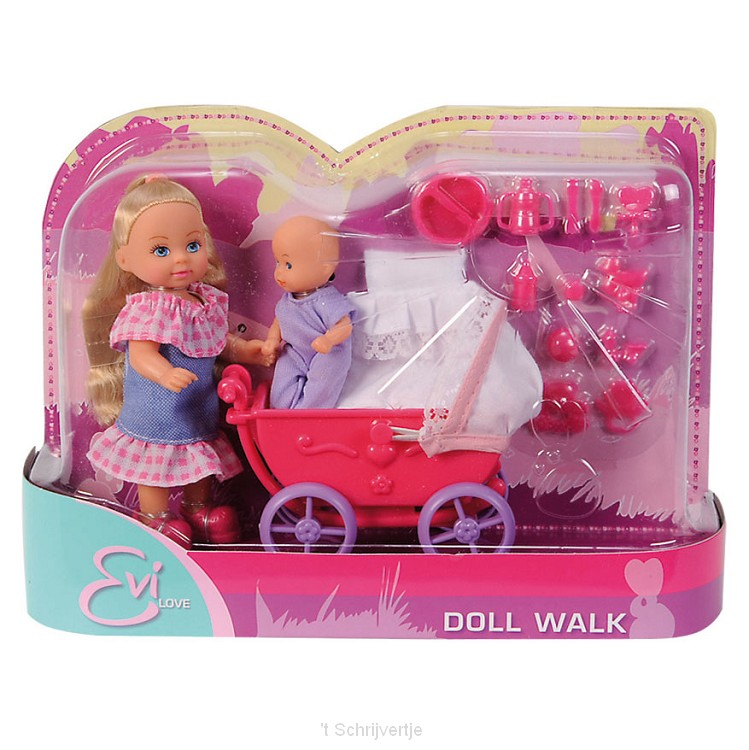 Evi Love Doll Walk Roze
