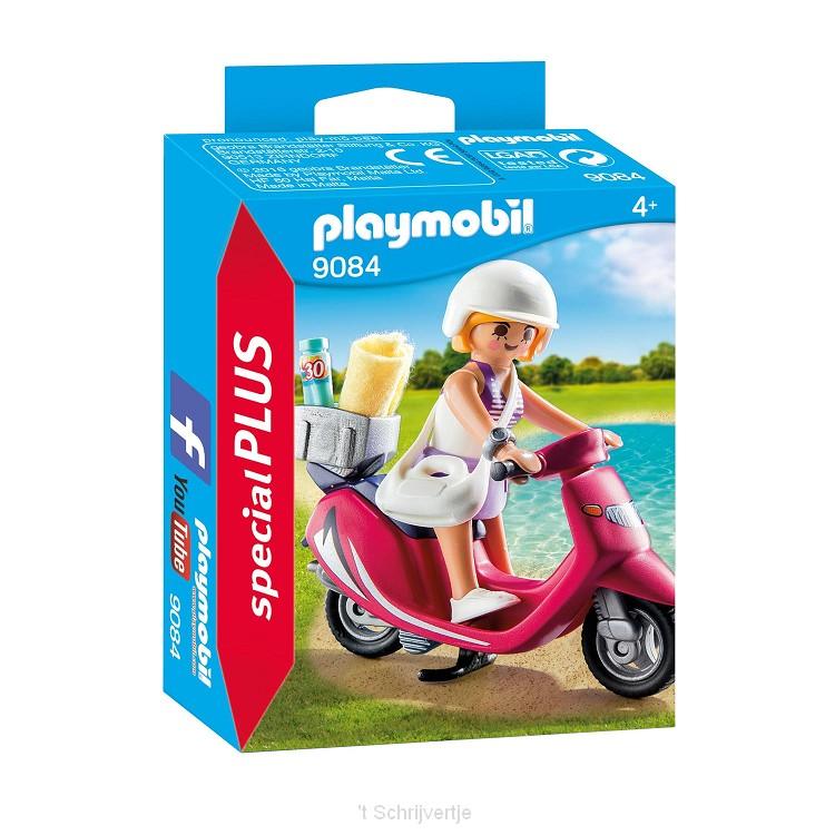 Playmobil 9084 Meisje met Scooter