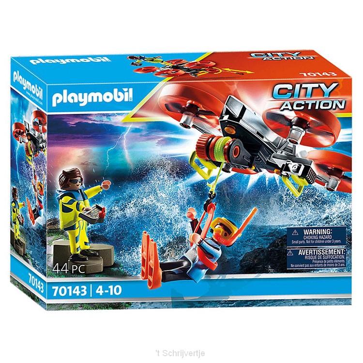 Playmobil 70143 Reddingsduiker met Reddingsdrone