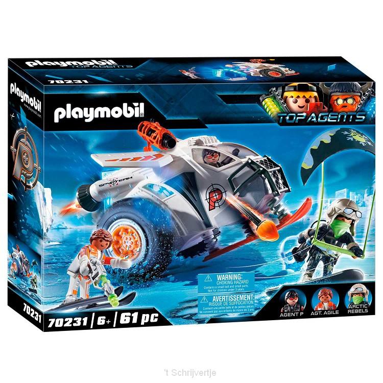 Playmobil 70231 Spy Team Sneeuwmobiel