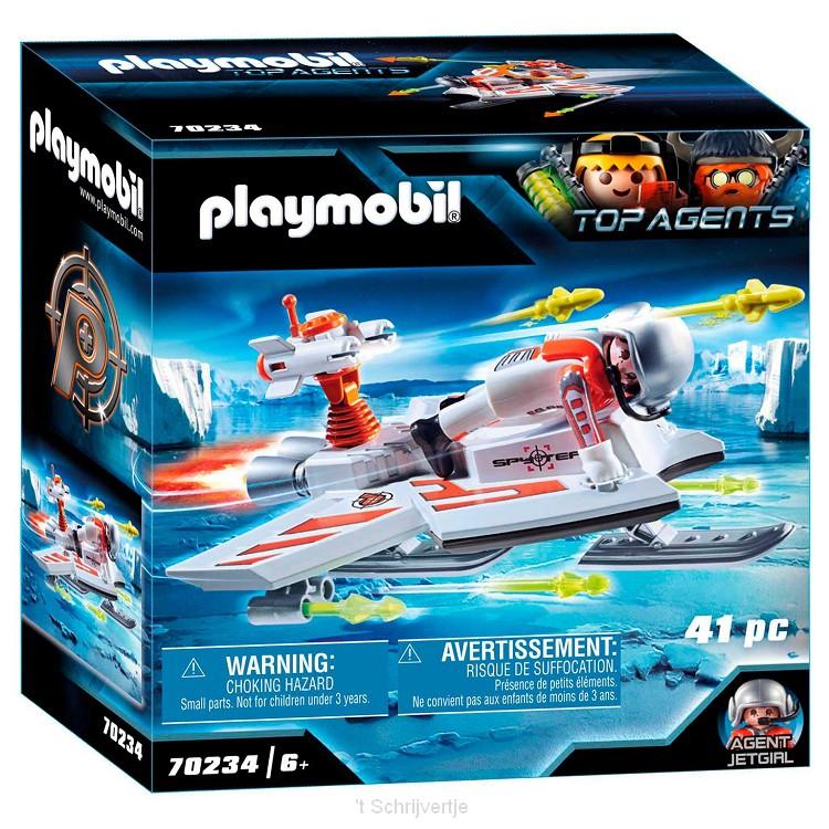 Playmobil 70234 Spy Team Piloot