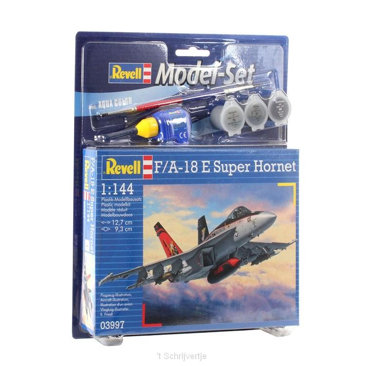 Revell Model Set F/A-18E Super Hornet Vliegtuig