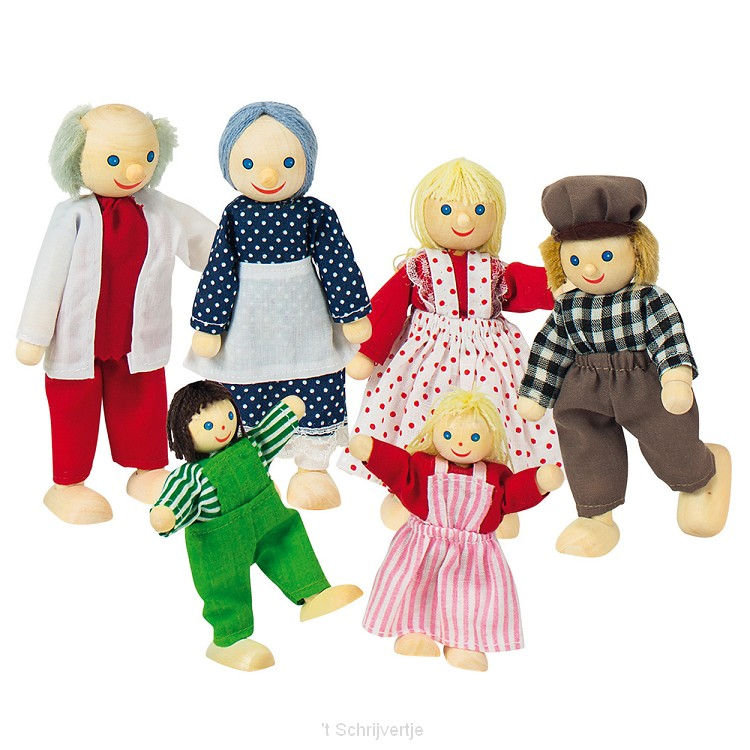 De Boeren Poppenhuis Familie