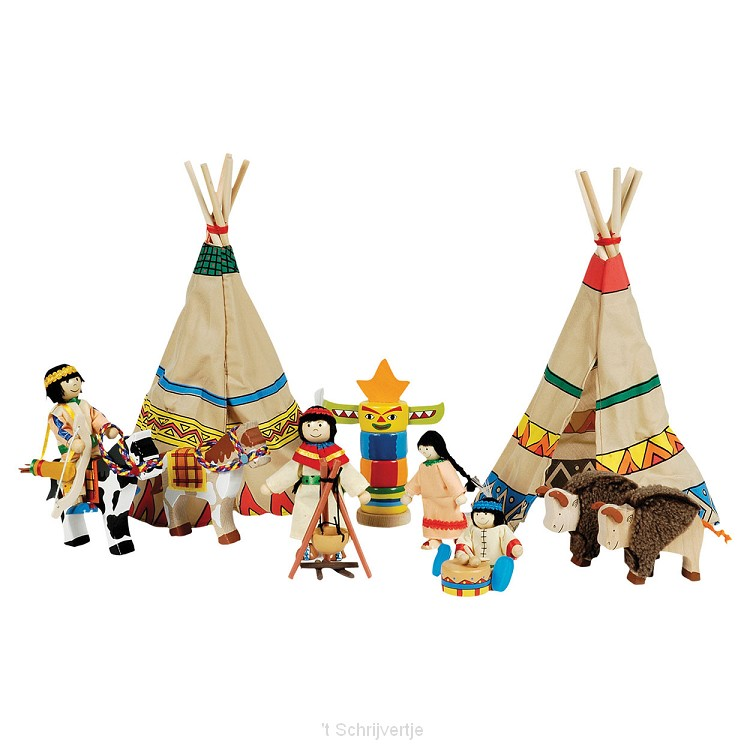 Indianenkamp, 14 delig
