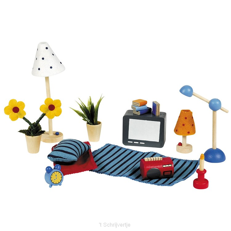 Accessoires Woonkamer, 17dlg.