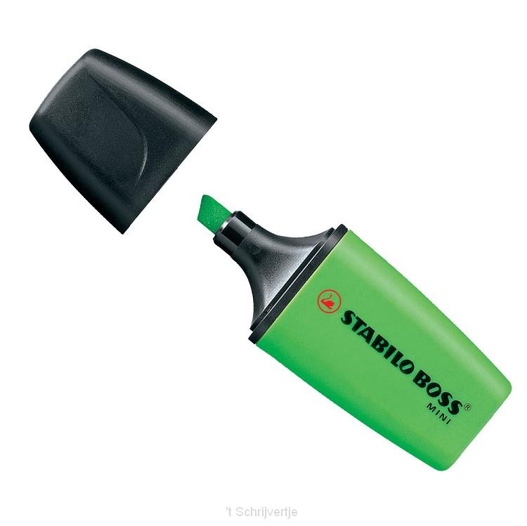 STABILO Boss Mini - Groen