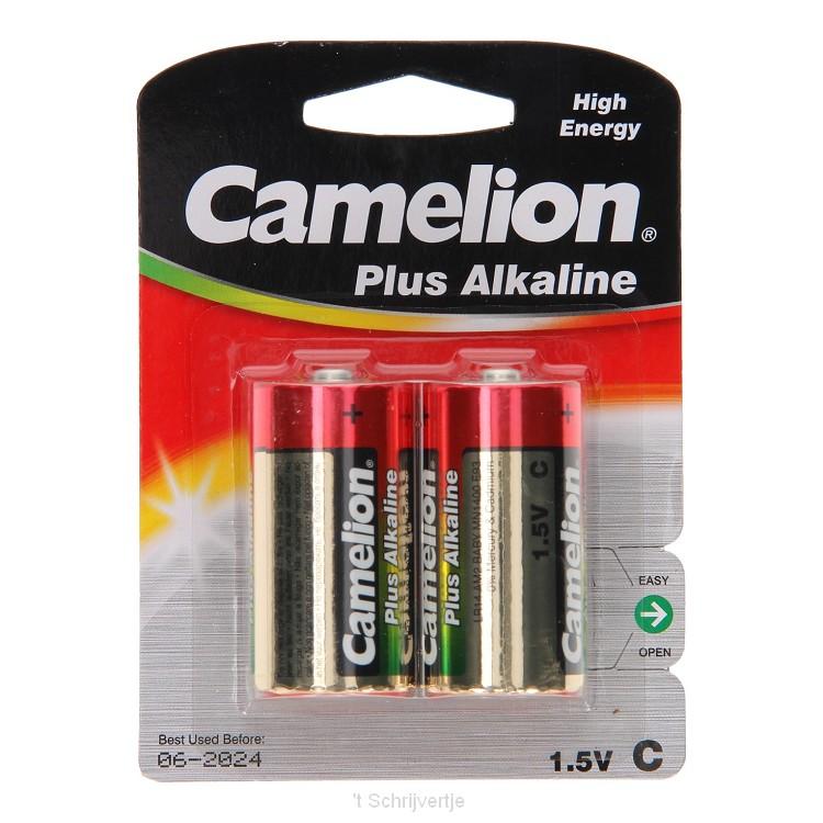 Camelion Plus Batterij Alkaline C/LR14, 2st.