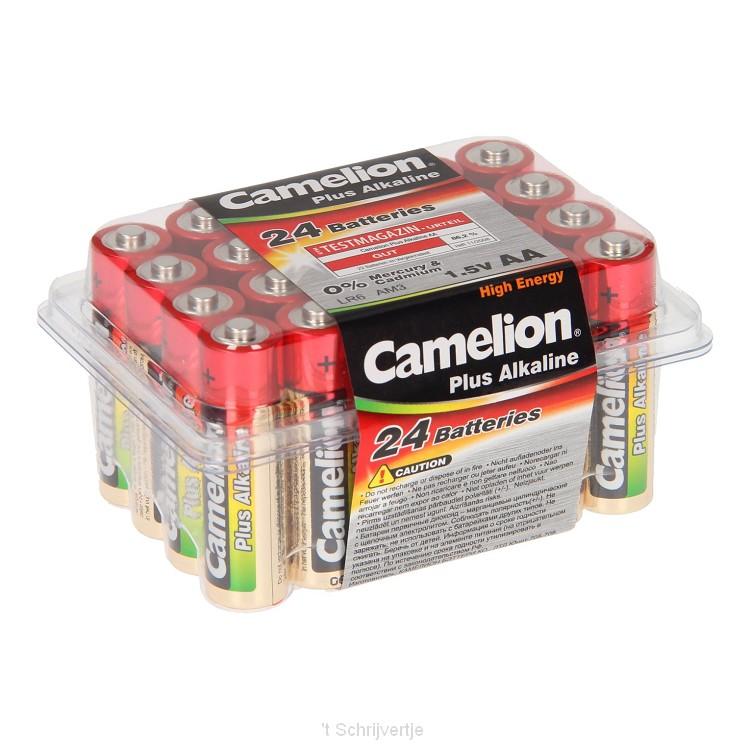 Camelion Plus Batterij Alkaline AA/LR6, 24st.