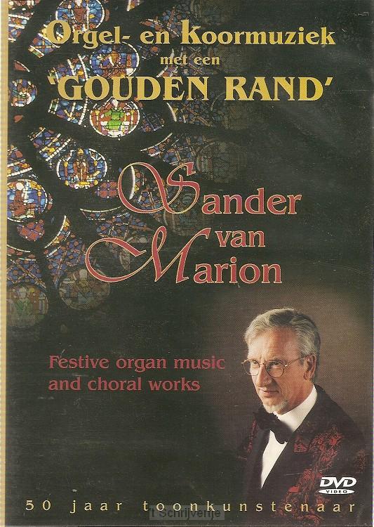 Orgel en koormuziek met een gouden rand