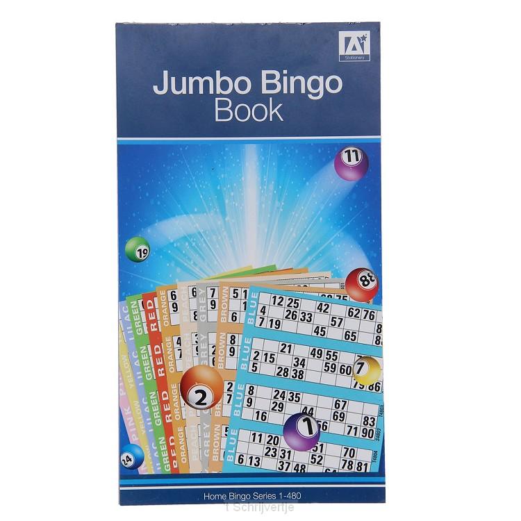 Kaartenblokje Bingo, 480st