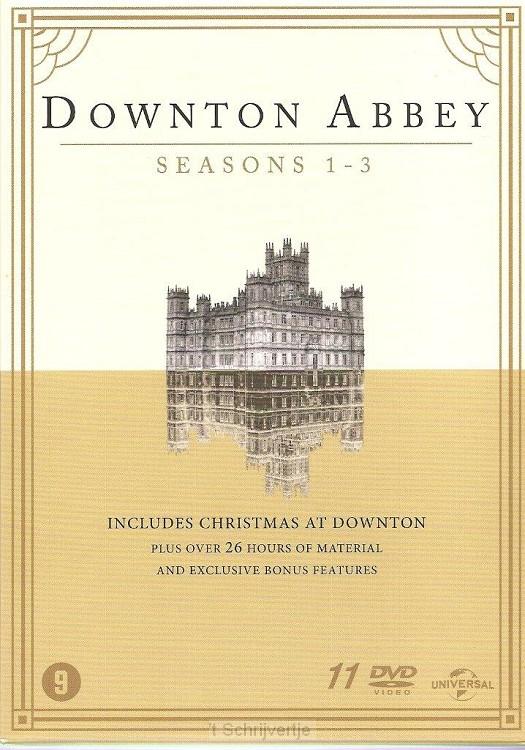 Downton Abbey seizoen 1-3