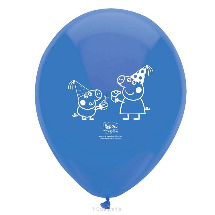 Peppa Pig Ballonnen, 12st.