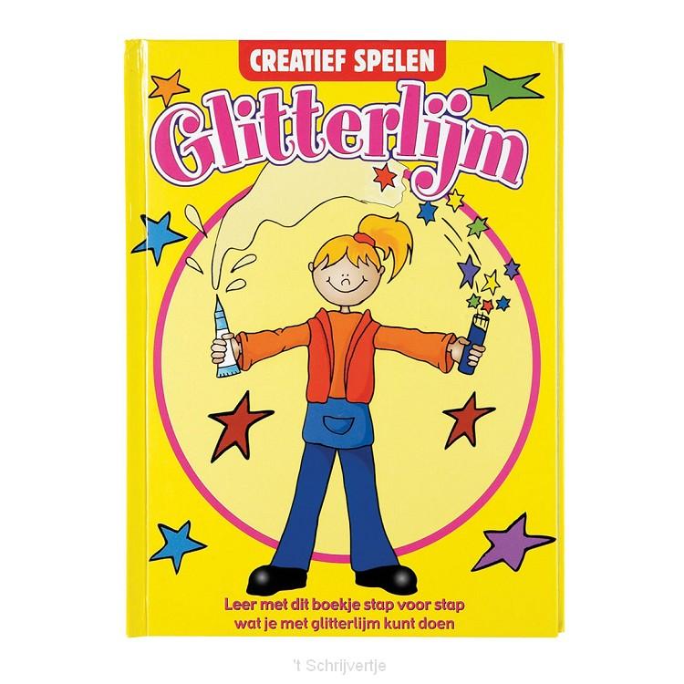 Glitterlijm Boek