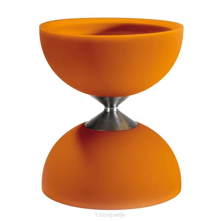 Rubber Diabolo - Oranje (excl. stokken)