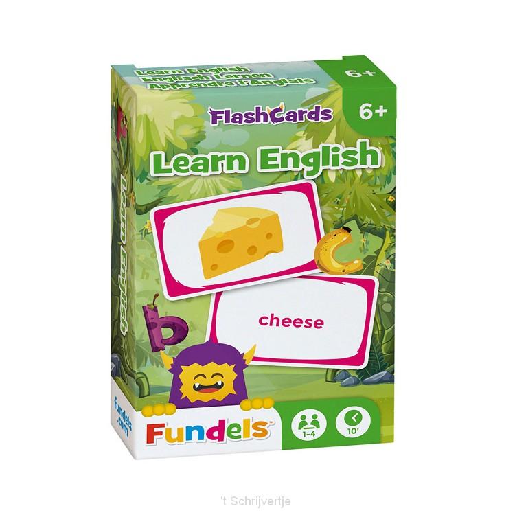 Fundels Kaartspel - Engels Leren